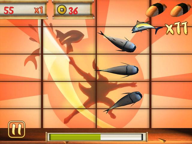 Sushi Chop game