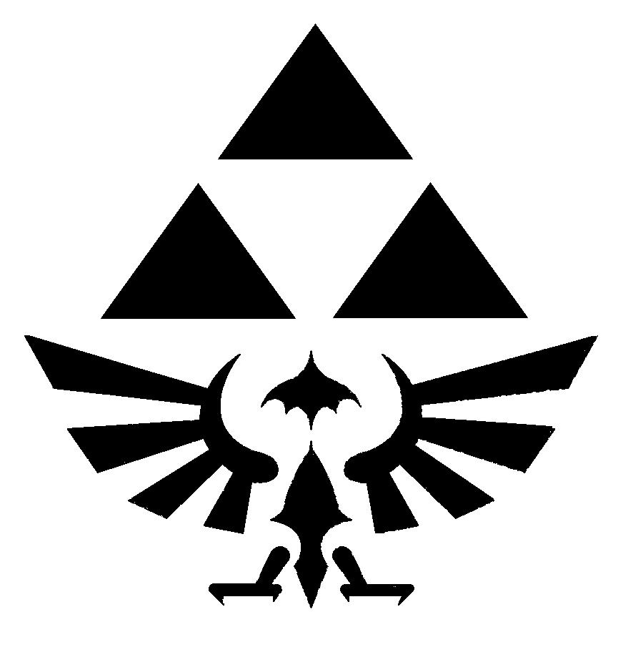 Zelda Shield Stencil