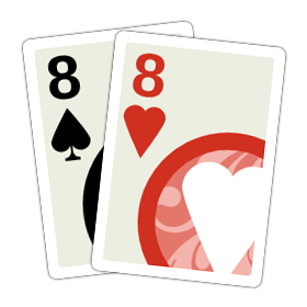 A pair of Eights.