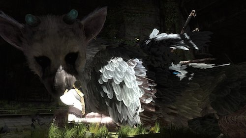 The Last Guardian boy and dog