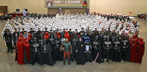 501st Legion Star Trek Cosplayers
