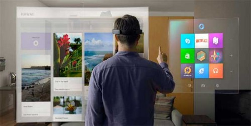 What the Microsoft HoloLens might look like