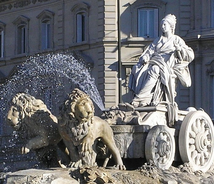 Plaza De Cibeles Madrid Spain Video Game Travel Guide