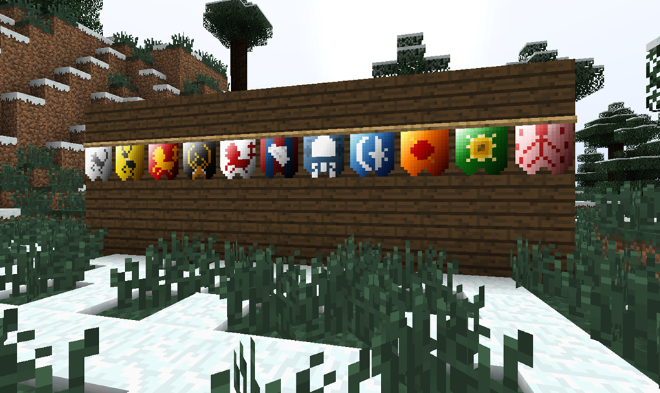 The best game of thrones mod collection for minecraft big fish blog game of thrones house flags in minecraft gumiabroncs Image collections