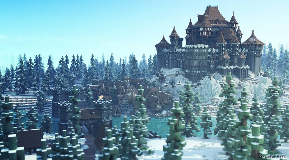 Game Of Thrones Minecraft Mod Winterfell