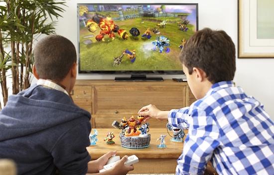Skylanders Giants Toys to Life play set