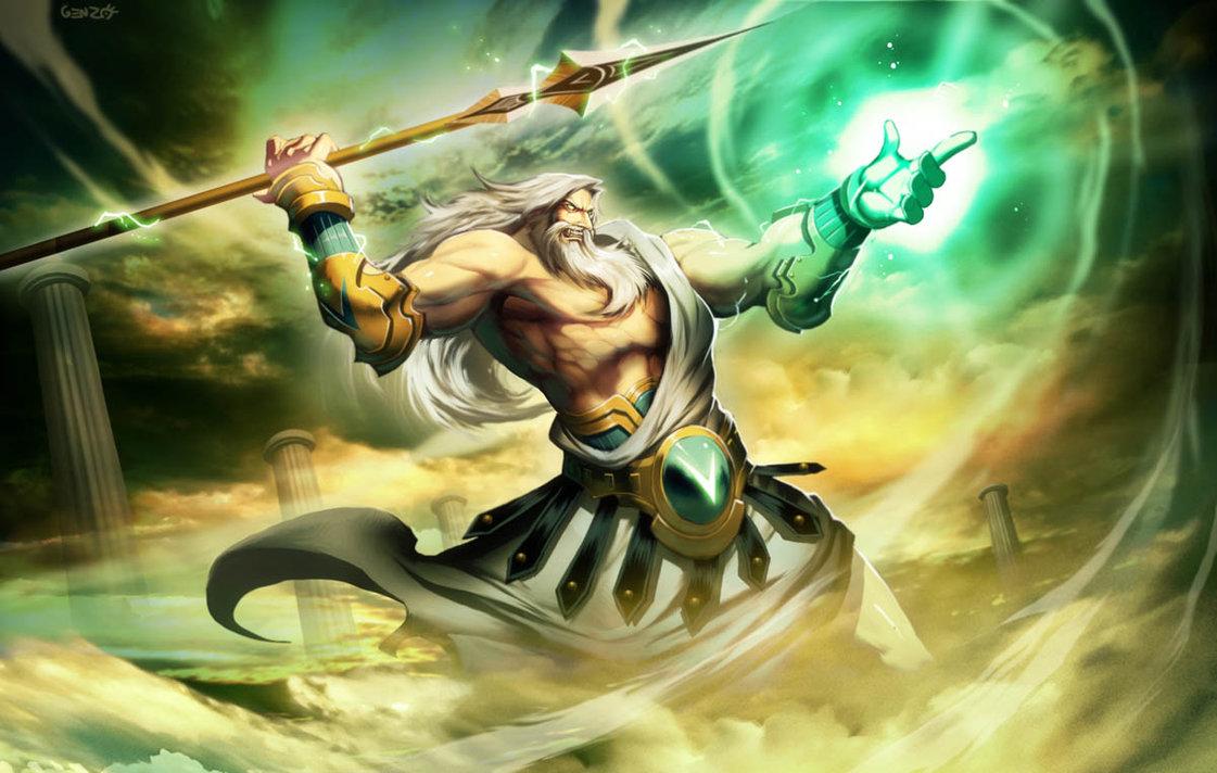 Angry Zeus is Scary Zeus