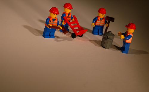 Équipe en Lego