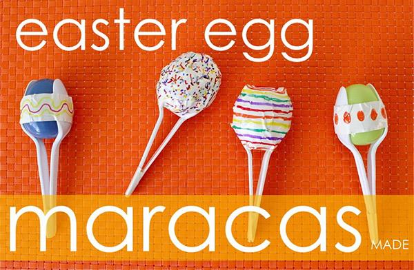 Easter Egg Maracs