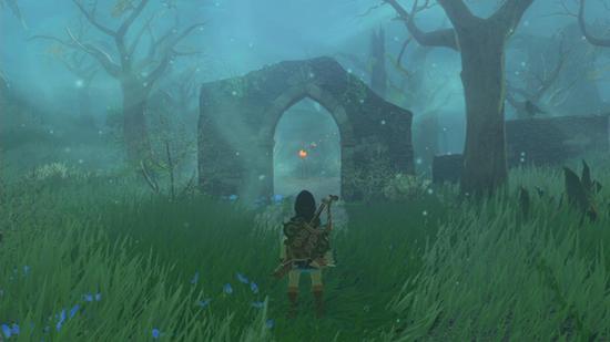 Zelda: Breath of the Wild Lost Woods are super creepy